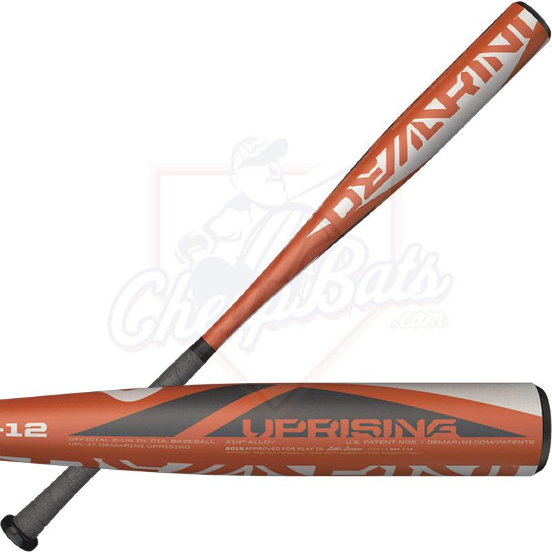 Fastpitch Bats 2017 -12 Alloy DeMarini Uprising