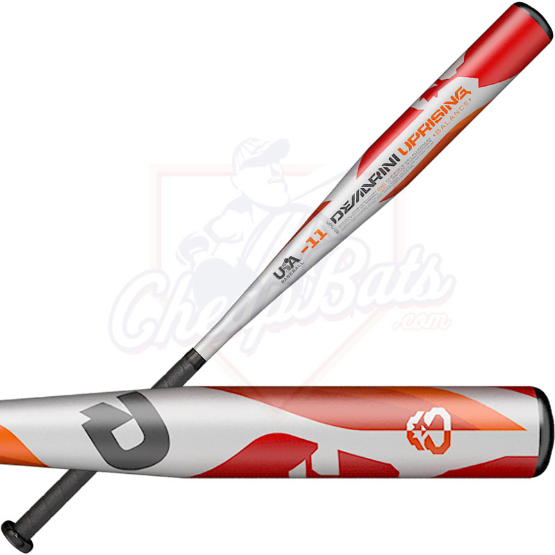 DeMarini Uprising Youth USA Baseball Bat -10oz WTDXUPL-19