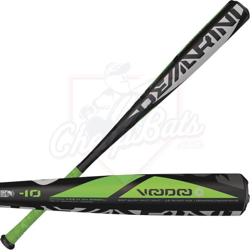2017 DeMarini Voodoo Junior Big Barrel Baseball Bat -10oz WTDXVBX-17