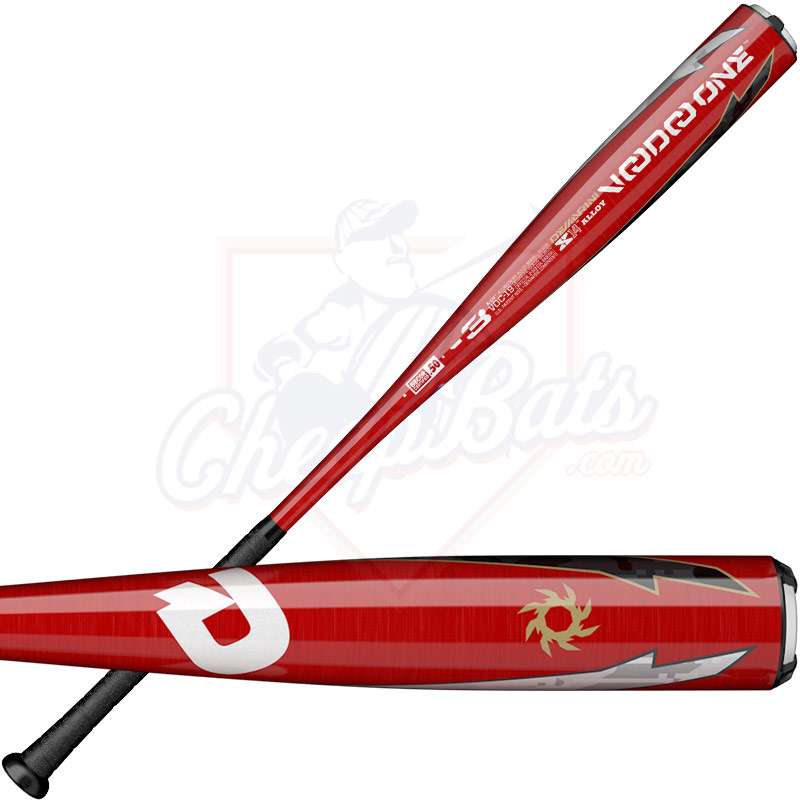 020b3bd90d9c5 2019 DeMarini Voodoo One BBCOR Baseball Bat -3oz WTDXVOC-19