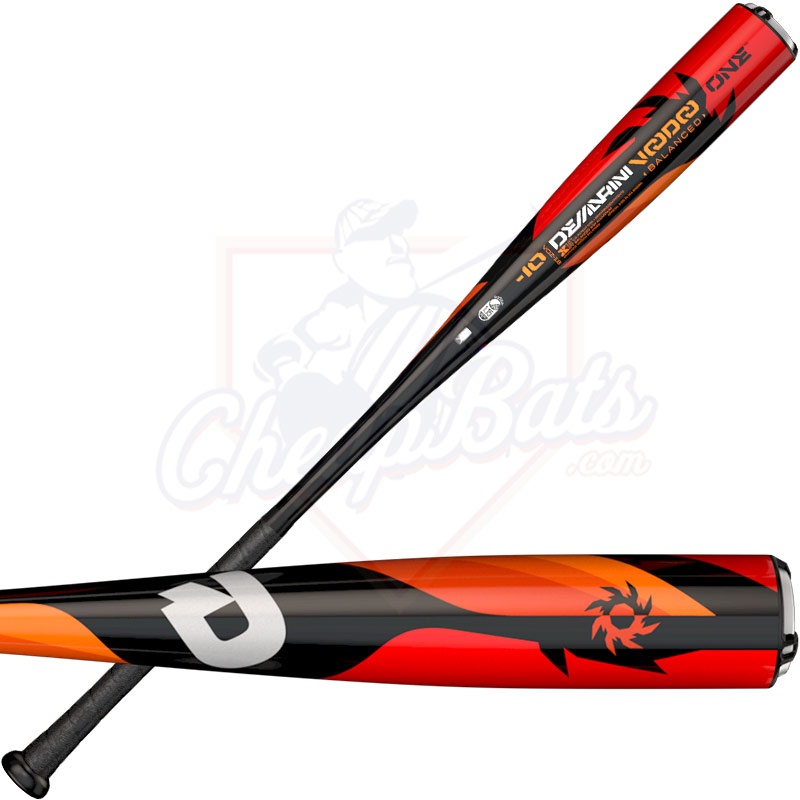 "2018 DeMarini Voodoo One Youth Big Barrel Baseball Bat 2 3/4"" -10oz WTDXVOZ-18"