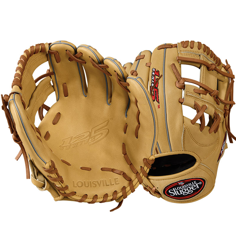 "Louisville Slugger 125 Series Baseball Glove 11.25"" WTL12RB171125"