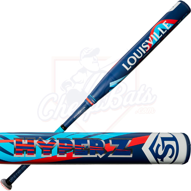 2018 Louisville Slugger Super Hyper Z Senior Slowpitch Softball Bat End  Loaded SSUSA WTLHZS18E