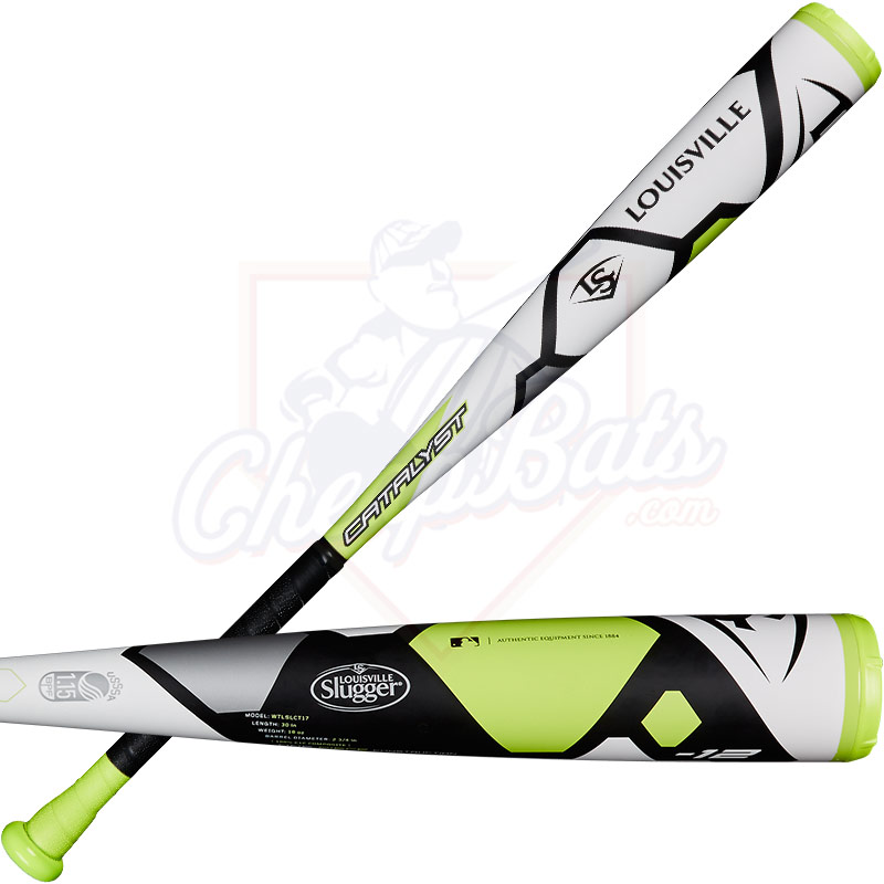 "2017 Louisville Slugger Catalyst Youth Big Barrel Baseball Bat 2 3/4"" -12oz WTLSLCT17X"