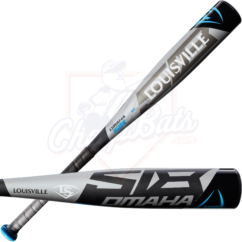 "2018 Louisville Slugger Omaha 518 Junior Big Barrel Baseball Bat 2 3/4"" -10oz WTLSLO518J10"