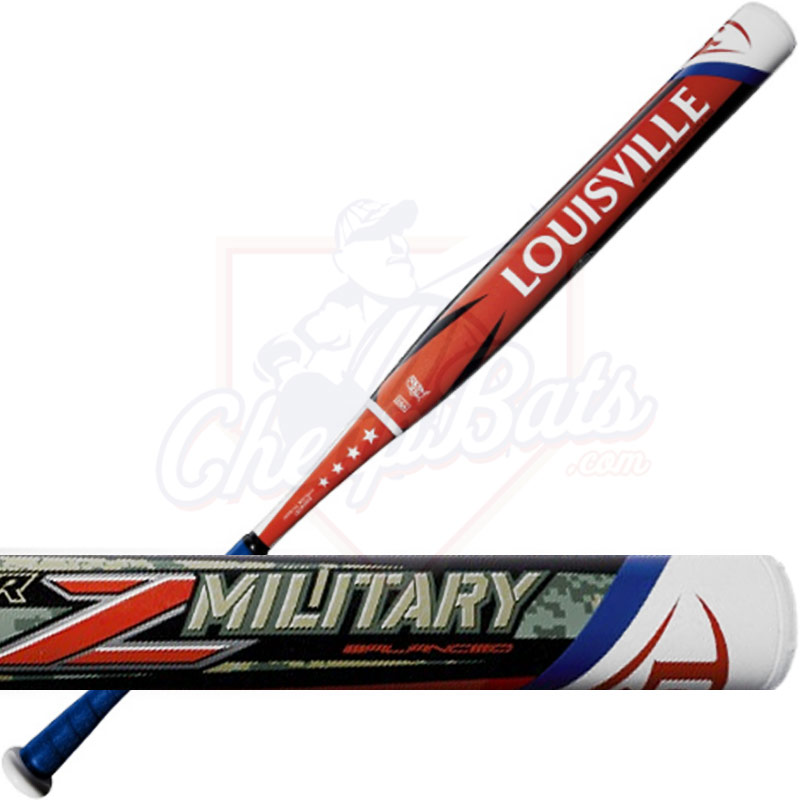 2016 Louisville Slugger Super Z Military Slowpitch Softball Bat USSSA Balanced WTLSZMU16B