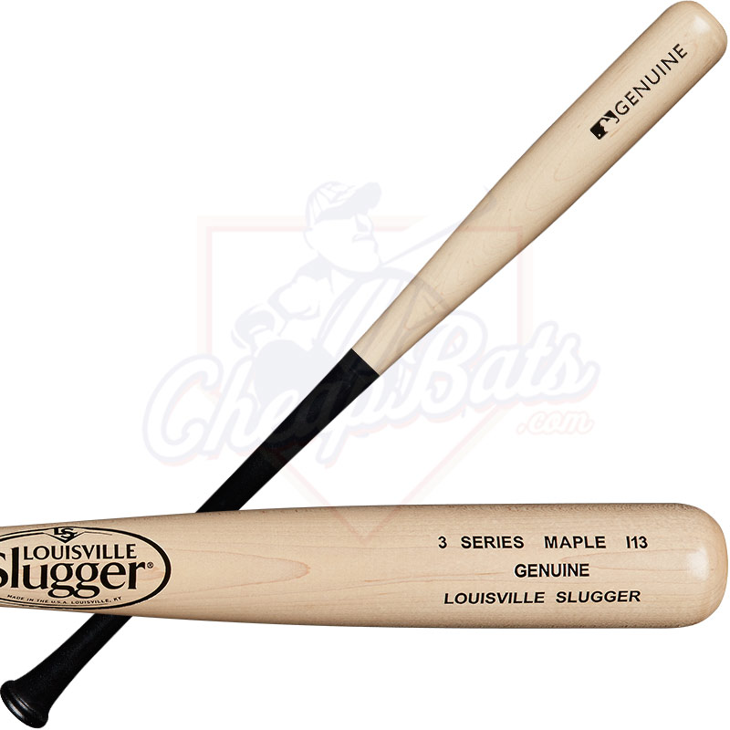 Louisville Slugger I13 Genuine Maple Wood Baseball Bat WTLW3MI13A16