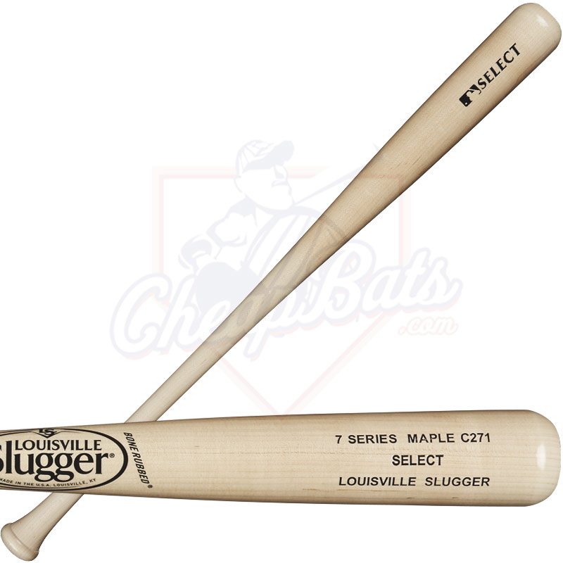 Louisville Slugger C271 Series 7 Select Maple Wood Baseball Bat WTLW7M271A16
