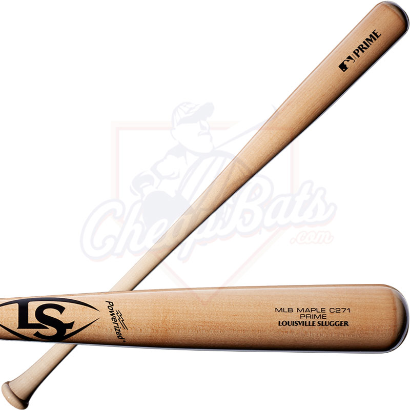 Louisville Slugger C271 Natural MLB Prime Maple Wood Baseball Bat WTLWPM271A20