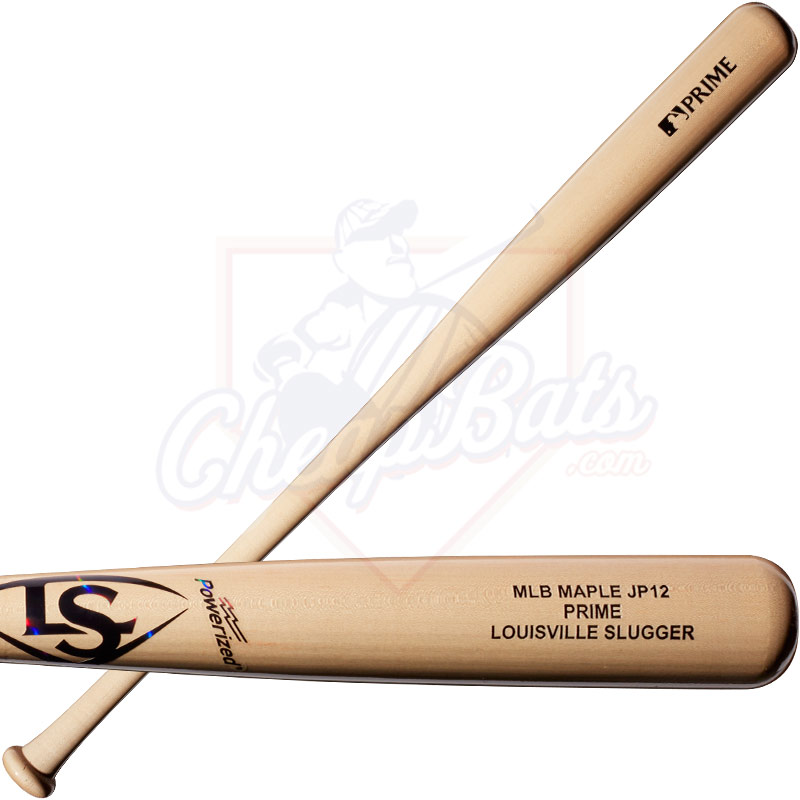 Louisville Slugger JP12 Holograph MLB Prime Maple Wood Baseball Bat WTLWPMJP1A17