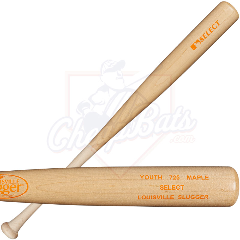 Louisville Slugger Select 725 Youth Maple Wood Baseball Bat WTLWYM725A16