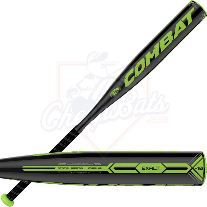 2016 Combat Exalt Youth Big Barrel Baseball Bat -10oz XLTSL110