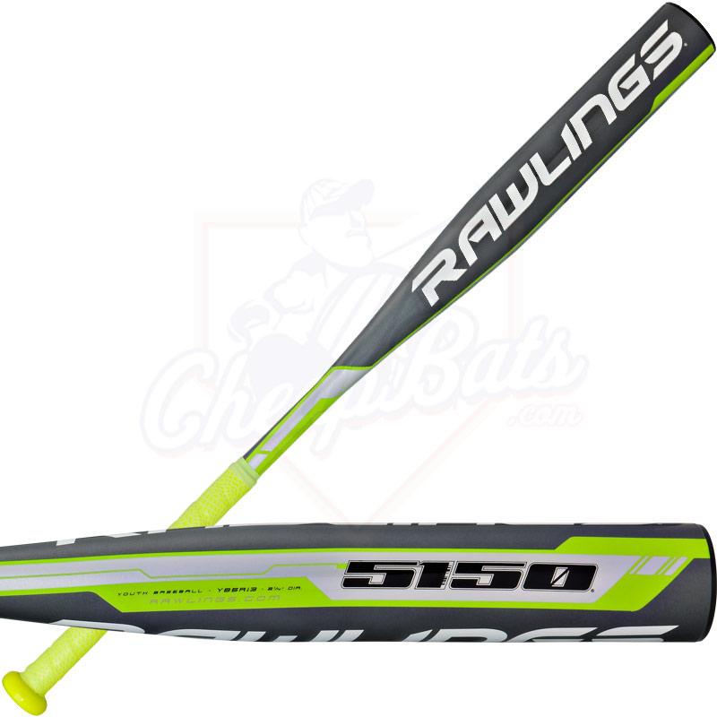 2016 Rawlings 5150 Youth Baseball Bat -13oz YB5R13