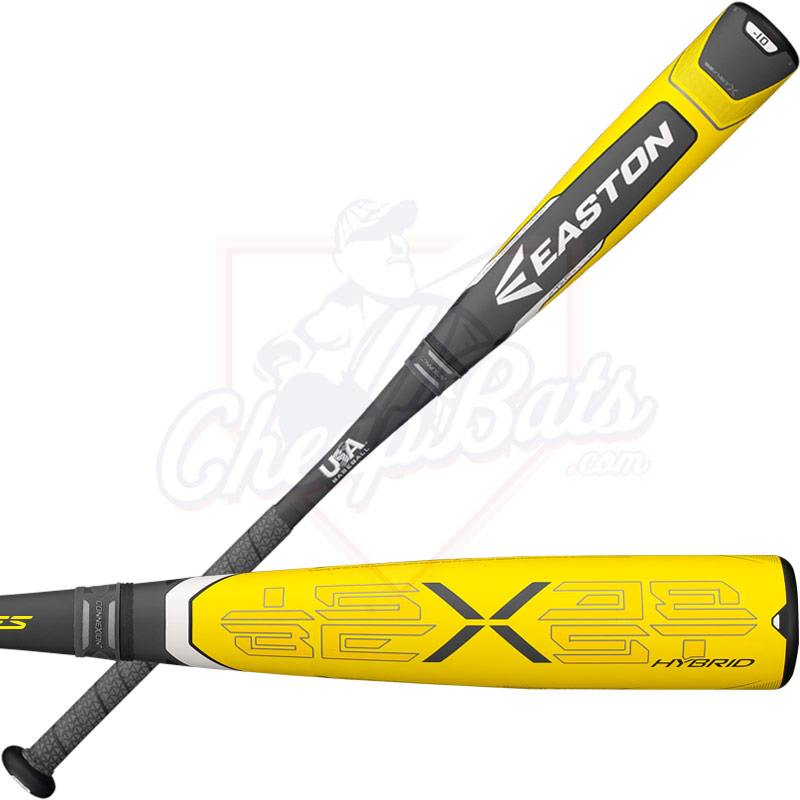 2018 Easton Beast X Hybrid Youth USA Baseball Bat -10oz YBB18BXH10