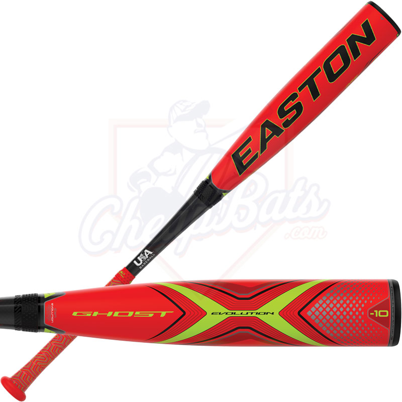 2019 Easton Ghost X Evolution Youth USA Baseball Bat -10oz YBB19GXE10