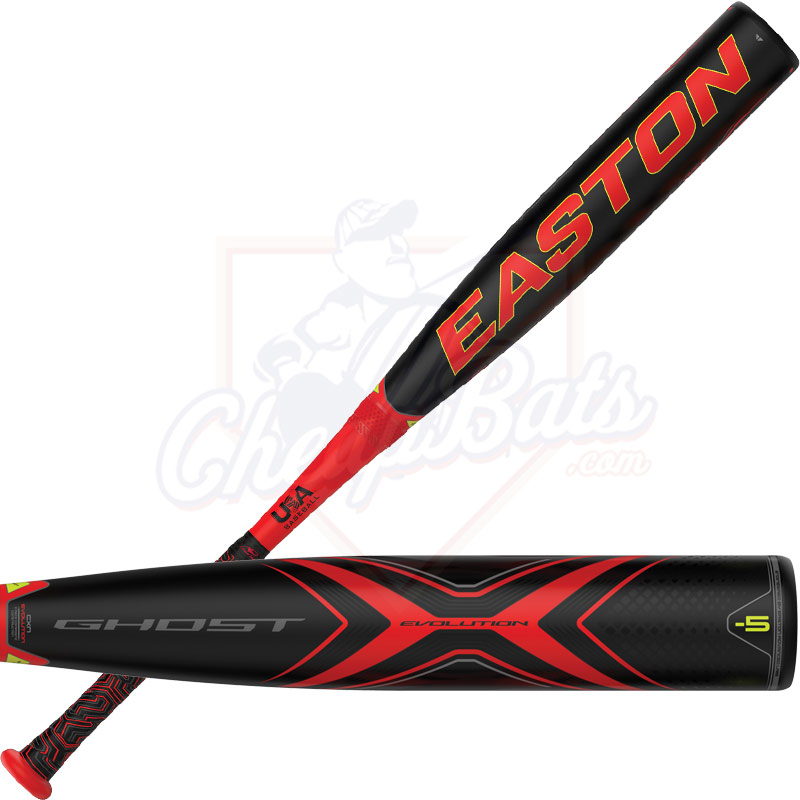2019 Easton Ghost X Evolution Youth USA Baseball Bat -5oz YBB19GXE5