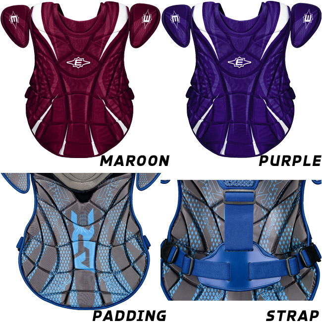 CLOSEOUT Easton Synge Fastpitch Chest Protector INTERMEDIATE
