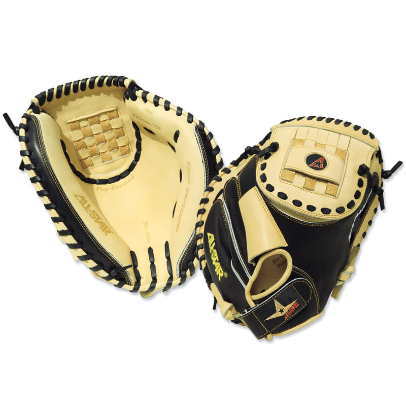 All Star CM3000KM Professional Knuckle Ball Catcher\'s Mitt 35""