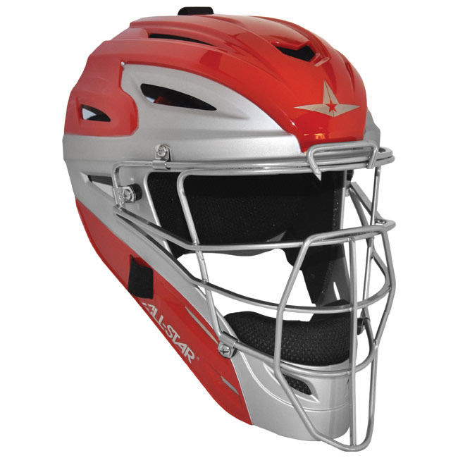 All Star Two Tone Catchers Helmet MVP2500TT