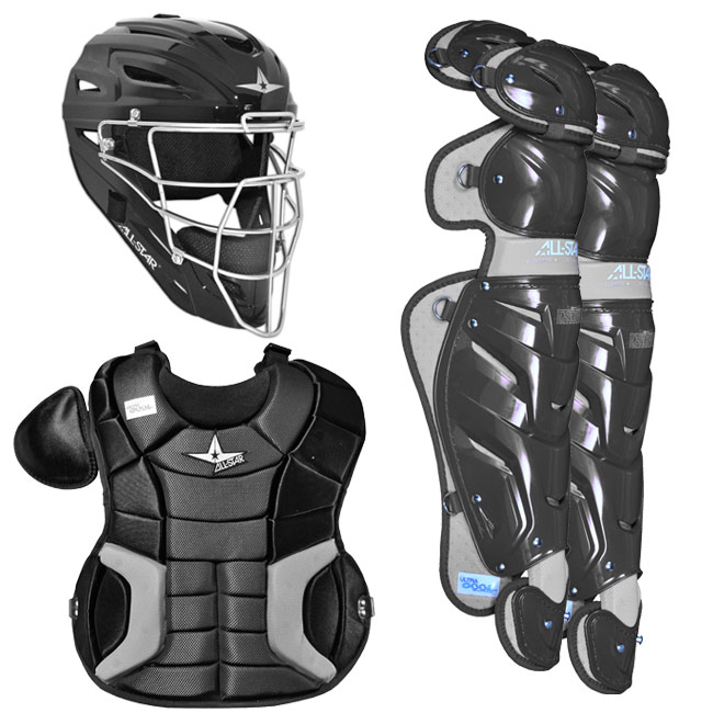 All Star Young Pro Series Catcher\'s Gear Set Age 12-16 - CK1216S7