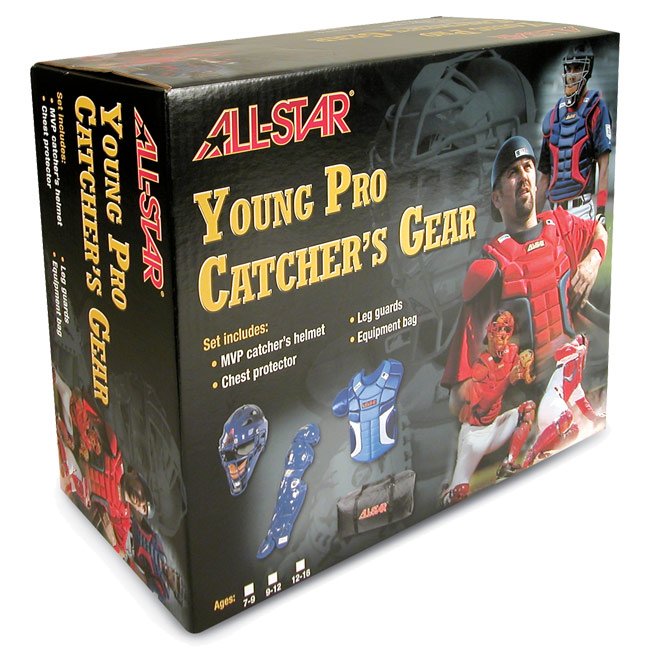 All Star Young Pro Series Catcher's Gear Set Age 12-16 - CK1216S7