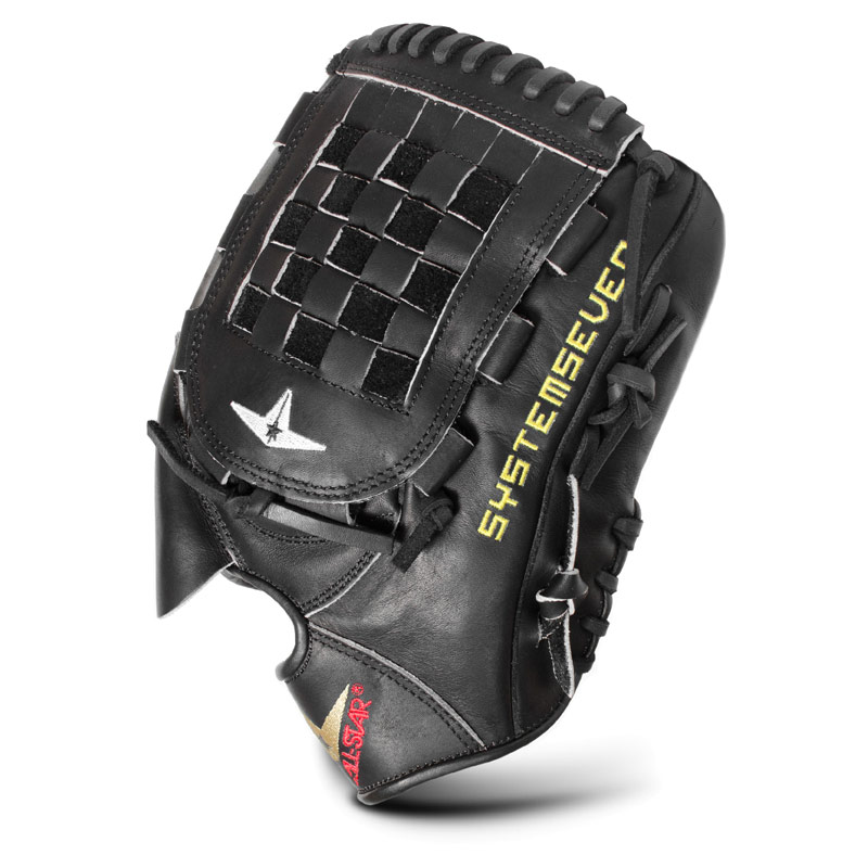 All Star FGS7-PTBK System Seven Baseball Glove 12""