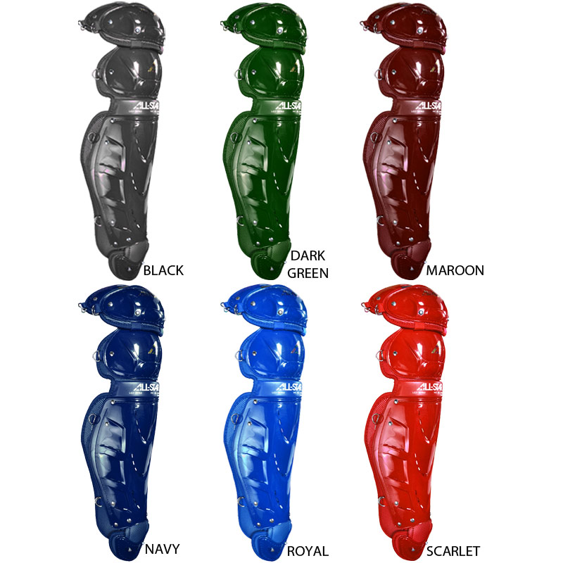 "All Star LG21WPRO Trad Pro Leg Guards 16.5"" Youth"