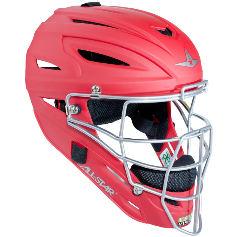 All Star MVP2510M System Seven Catcher Helmet with Matte Finish - Youth