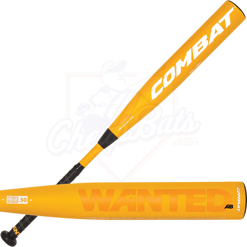 2014 Combat WANTED BBCOR Baseball Bat -3oz WANAB103