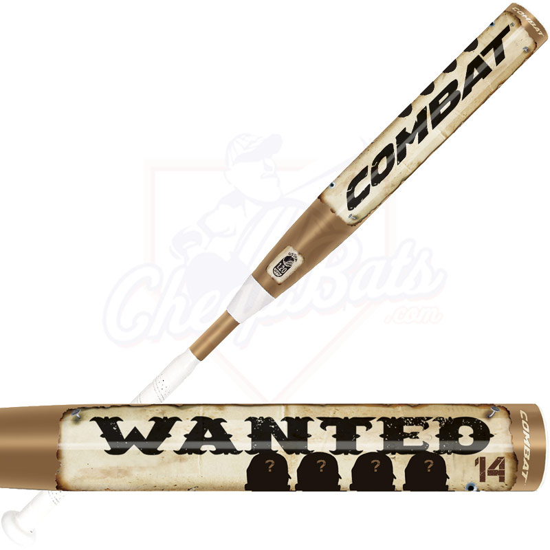 2014 Combat WANTED Slowpitch Softball Bat WANSP4