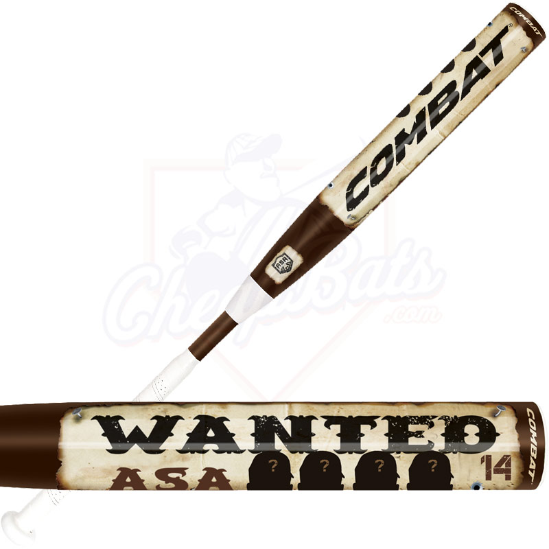 2014 Combat WANTED ASA Slowpitch Softball Bat WANSP6