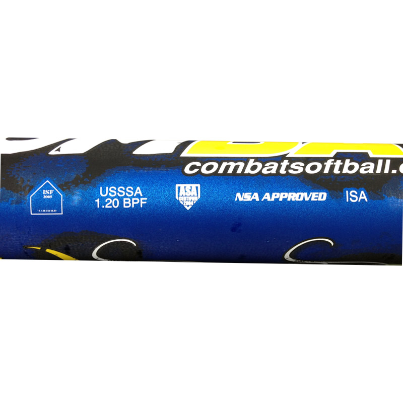 Combat Rusty Bumgardner 98 Anti Virus Reloaded Slowpitch Softball Bat VIRSP5-RB