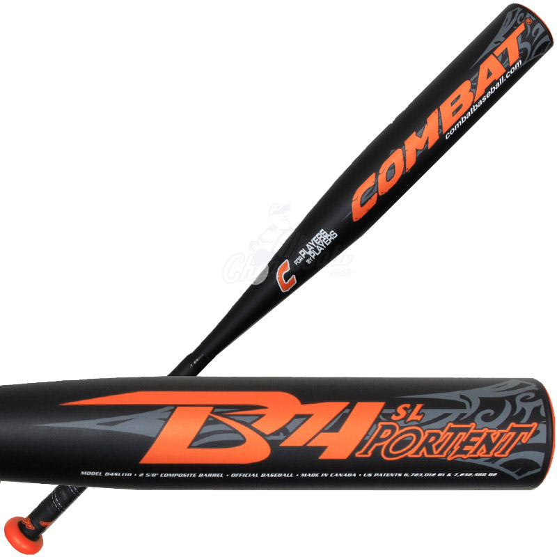 combat b4 portent senior youth baseball bat b4sl110