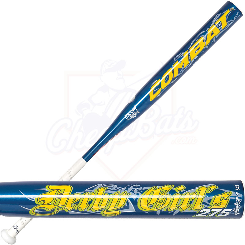2013 Combat Derby Girls 275 Slowpitch Softball Bat GCBSP1