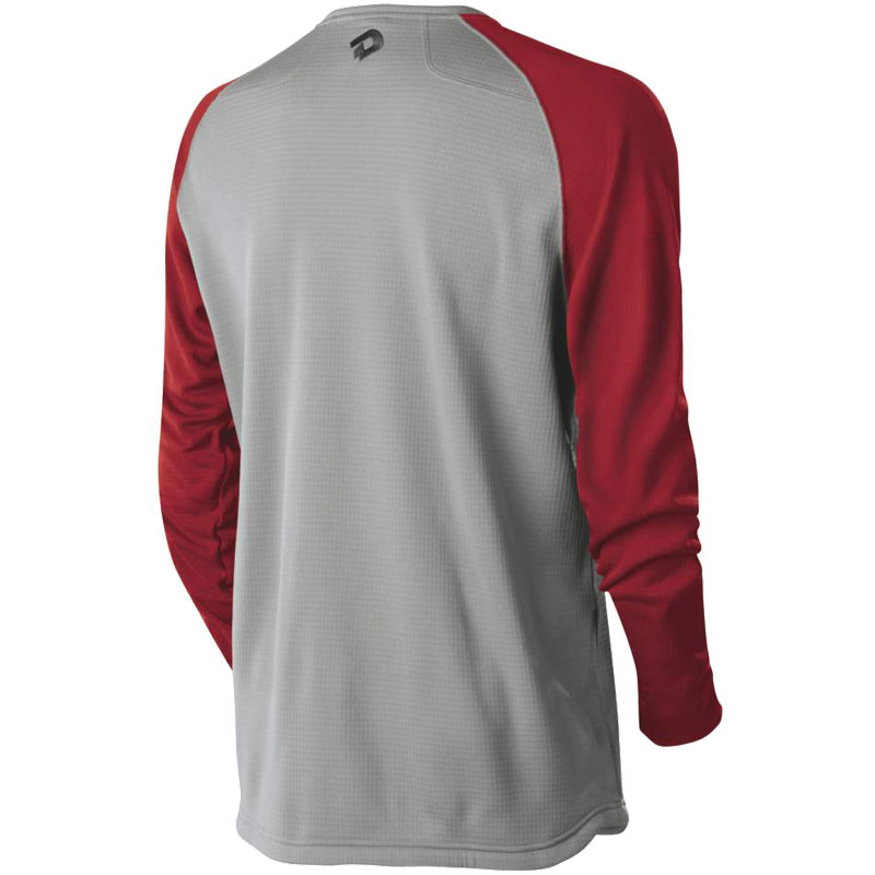 DeMarini Heater Fleece Mens Steel Grey/Red