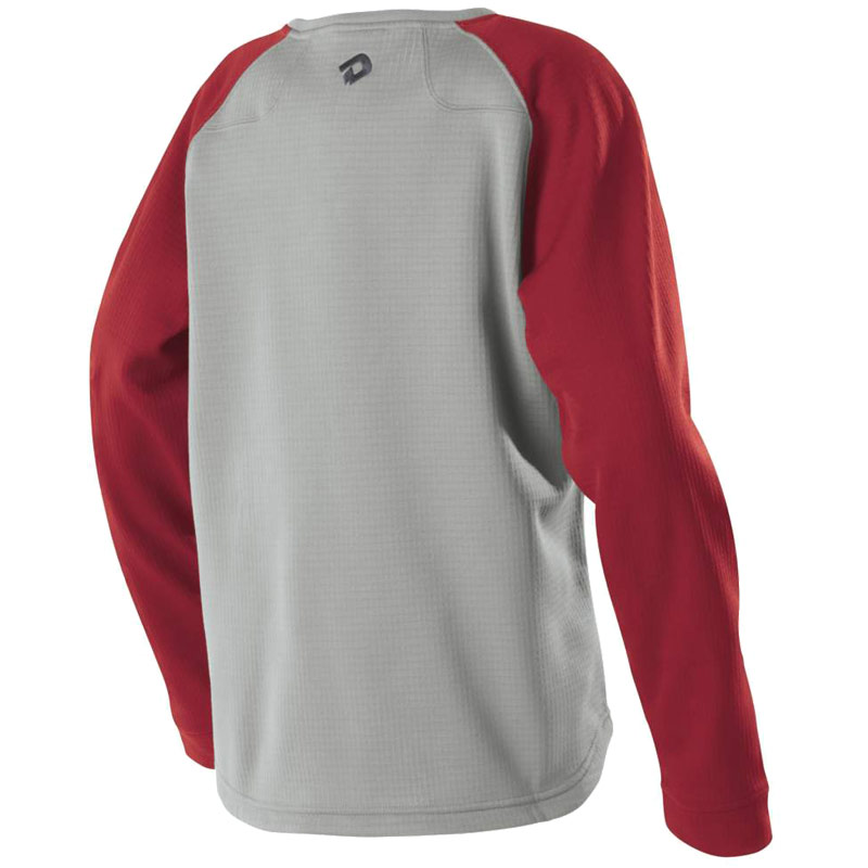 DeMarini Heater Fleece Youth Steel Grey/Red