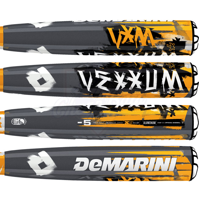 2013 DeMarini Vexxum Senior Youth Baseball Bat -5oz DXVX5