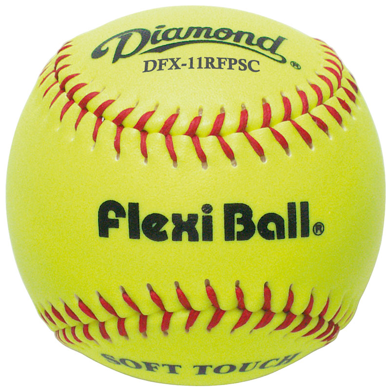 "Diamond 11"" Softball DFX-11RFPSC (6 Dozen Case"