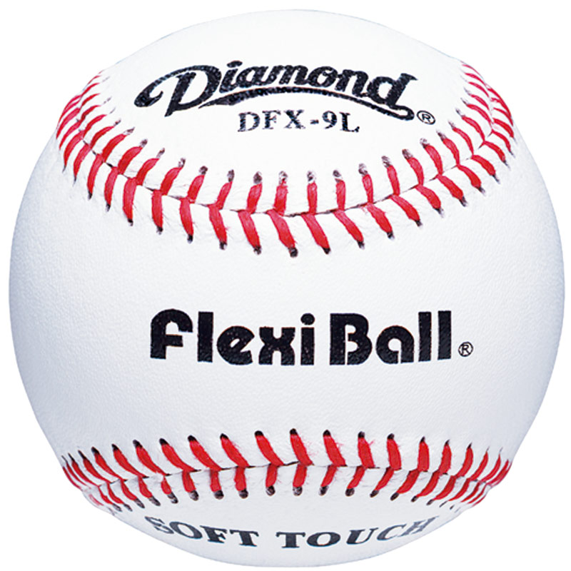 Diamond DFX-9L Flexi Ball/Soft Touch Batting Practice Baseballs 10 Dozen