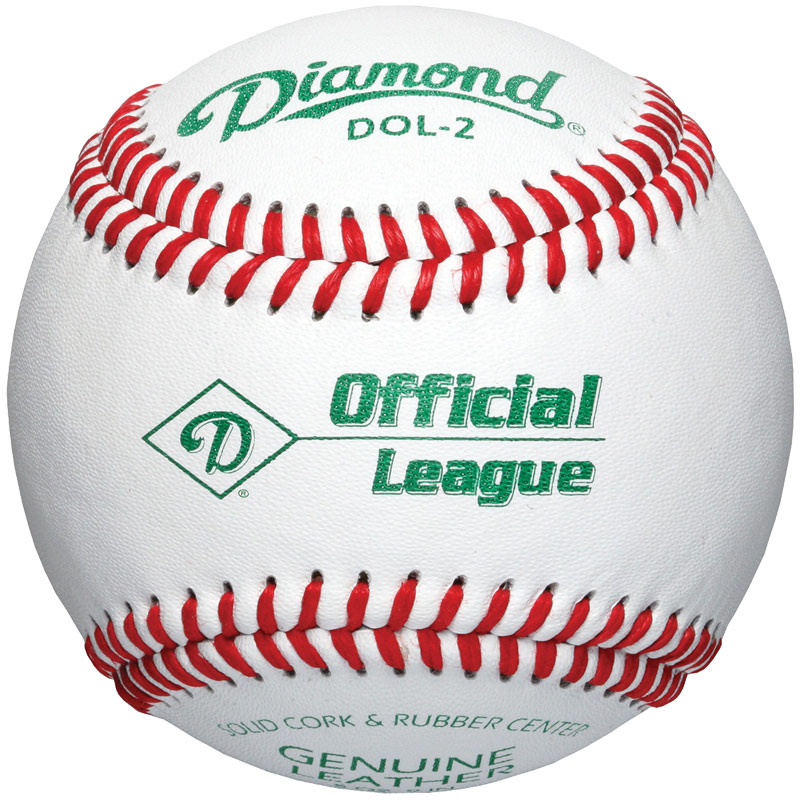 Diamond DOL-2 Official League Baseball (10 Dozen)
