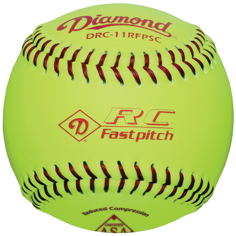 "Diamond RC Fastpitch Softball 11"" DRC-11RFPSC (6 Dozen)"