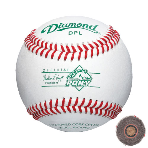 Diamond DPL Pony League Baseball Dozen