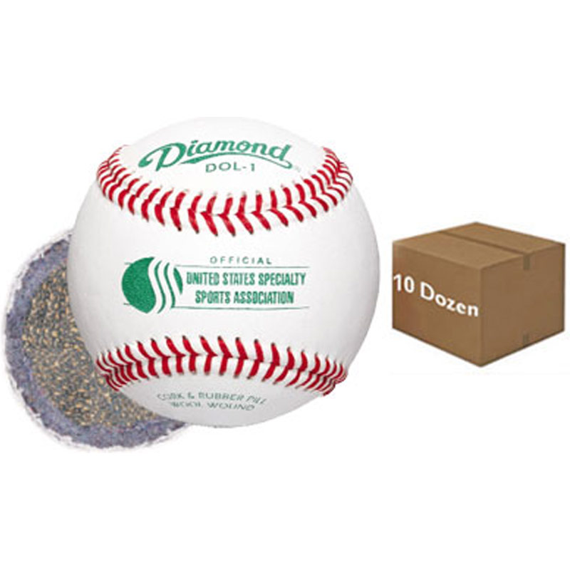Diamond DOL-1 Offical USSSA Baseball (1 Dozen)