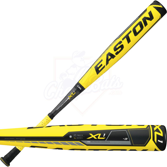 2013 Easton Power Brigade XL1 BBCOR Baseball Bat -3oz BB13X1 A111610