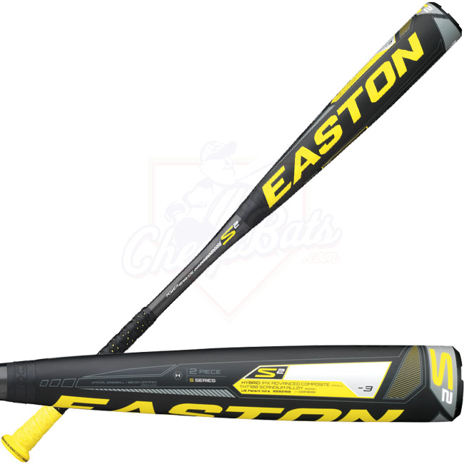 2013 Easton Power Brigade S2 BBCOR Baseball Bat -3oz BB13S2 A111611