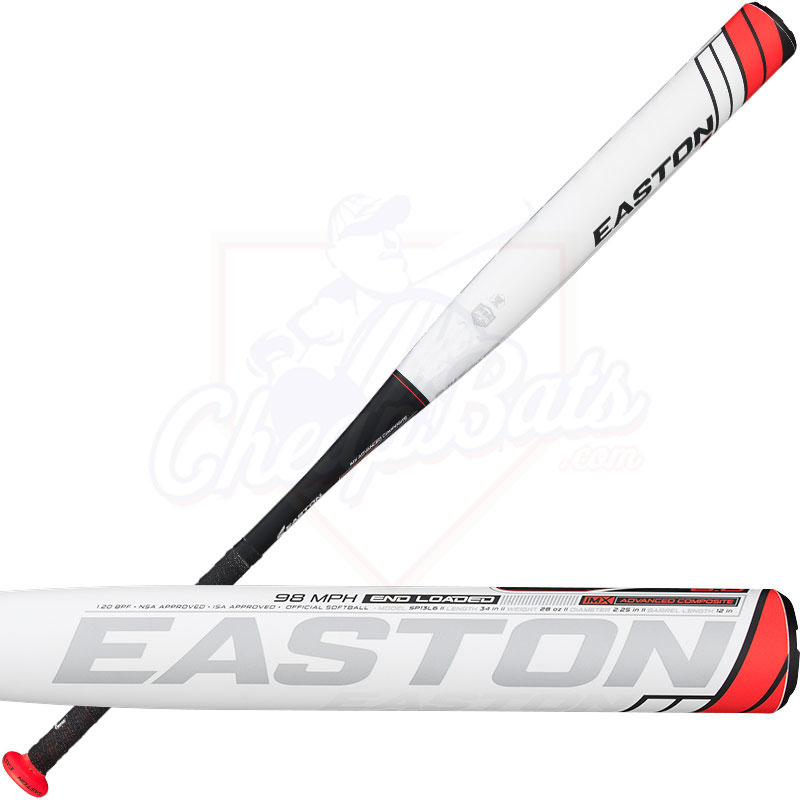 Easton Raw Power L6.0 Slowpitch ASA Softball Bat End Loaded SP13L6