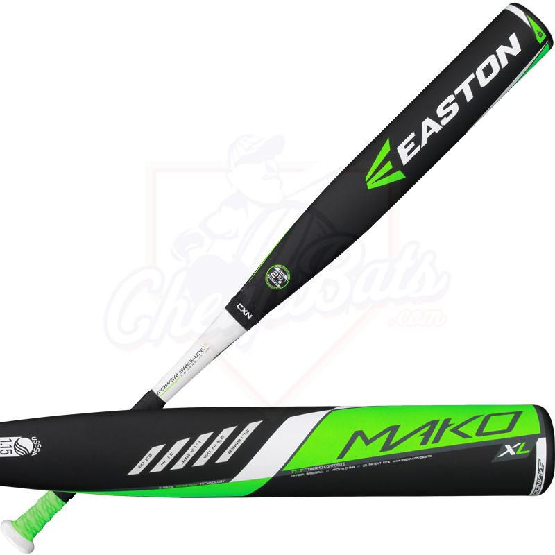 CLOSEOUT 2016 Easton Mako XL Youth Big Barrel Baseball Bat -8oz