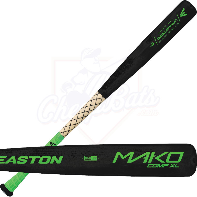 Easton MAKO XL COMPOSITE Wood BBCOR Baseball Bat -3oz A110224