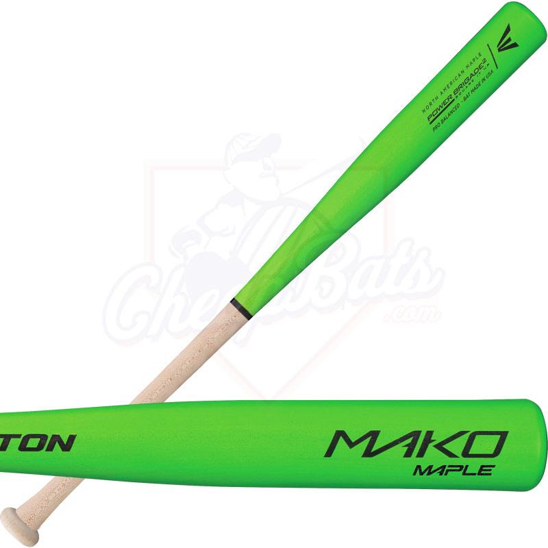 Easton Mako Maple Youth Wood Baseball Bat A110232 Green