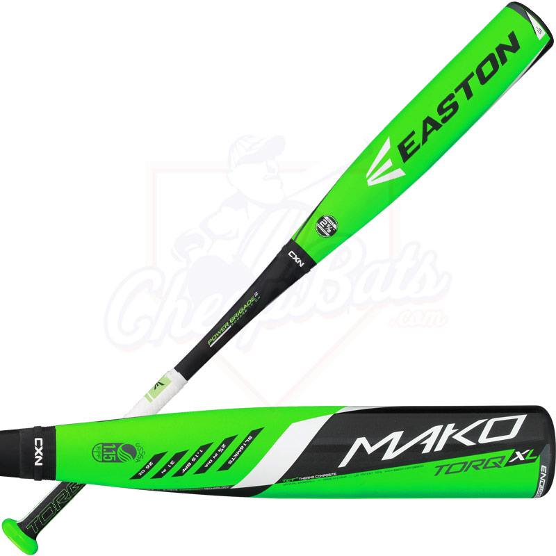 2016 Easton MAKO TORQ Youth Big Barrel Baseball Bat -5oz SL16MKT5